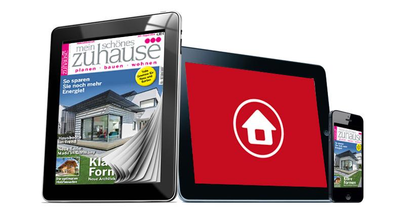 Hausbau App für Tablets und Smartphones