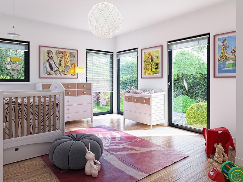 Kinderzimmer Solution 87 V2 von Living Haus