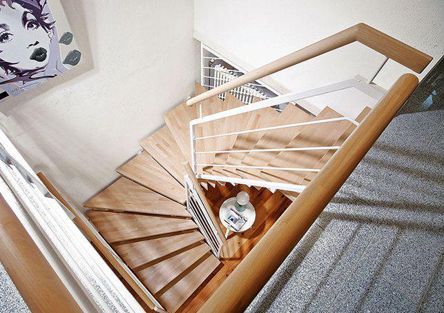 Treppen Materialmix (Foto: Fuchs Treppen)