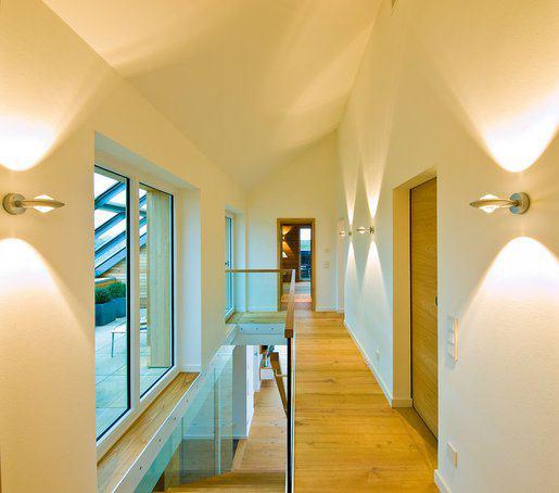 Fluransicht im Holzhaus Qi