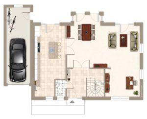 house-2419-grundriss-erdgeschoss-architektenhaus-hochfeld-mit-satteldach-von-gussek-haus-1