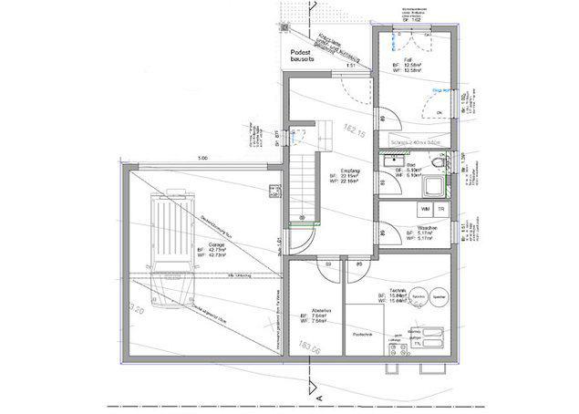 """Untergeschoss: Haus """"Wenninger"""" von Fertighaus WEISS"""