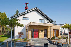 Musterhaus Wuppertal von Fingerhut Haus aussen