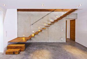 Treppe Architektenentwurf Weitblick
