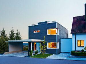 Außenansicht Haus Wiesenhütter von Baufritz
