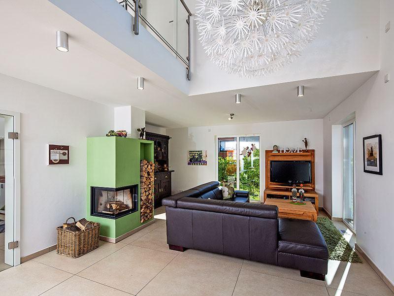 Wohnbereich Stadtvilla Engelhardt von Baumeister-Haus