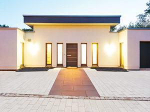 Entwurf Piemont von Gussek Haus Eingang