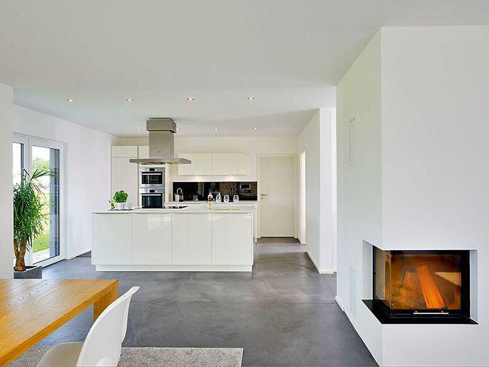 Kochbereich Haus Pfrang von Fertighaus Weiss