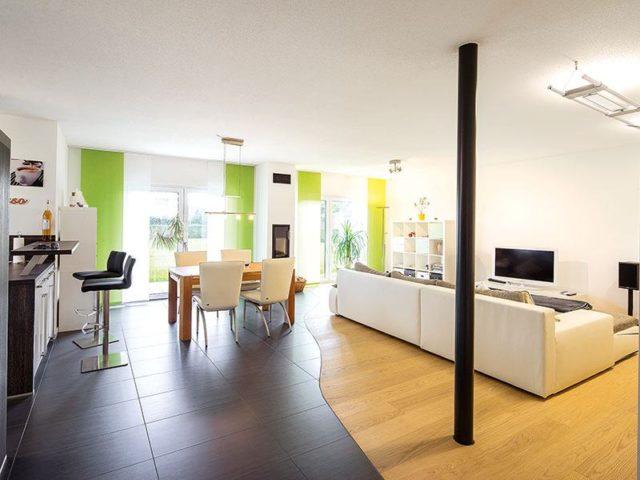 Wohn- und Essbereicht Bungalow NIVO130 von Fingerhaus