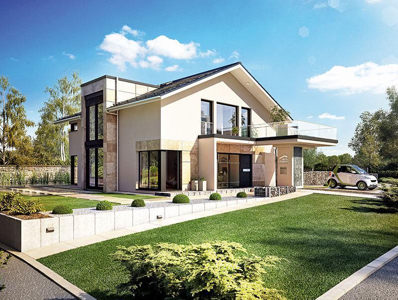 Bien-Zenker / Hausentwurf Concept-M-Poing