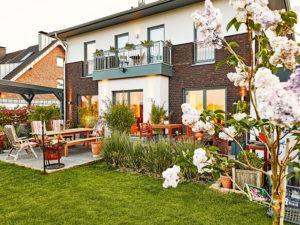 Gussek Gaarden - Aussenansicht Garten
