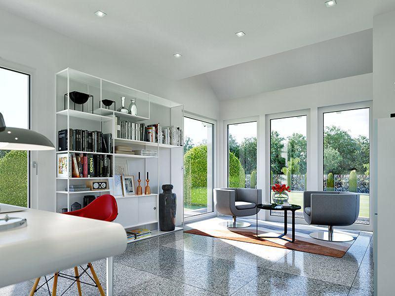 SUNSHINE Wohnbeispiel Arbeitszimmer (Living Haus)