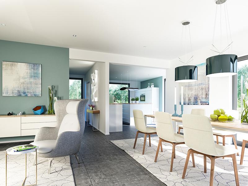 Entwurf Fantastic 163 V7 von Bien-Zenker Wohnküche