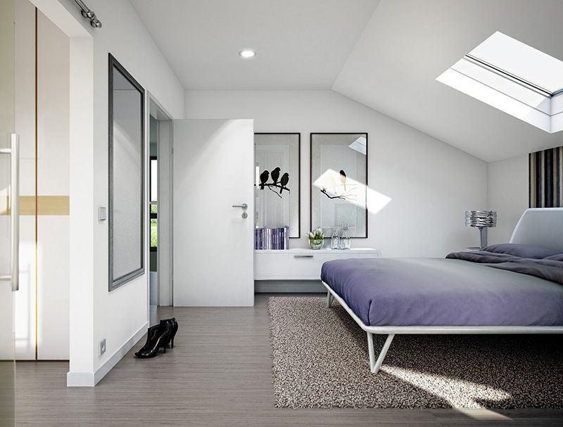 Wohnbeispiel Schlafzimmer Pfullingen (Bien-Zenker)