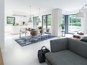 SUNSHINE Wohnbeispiel Ess-Küche (Living Haus)