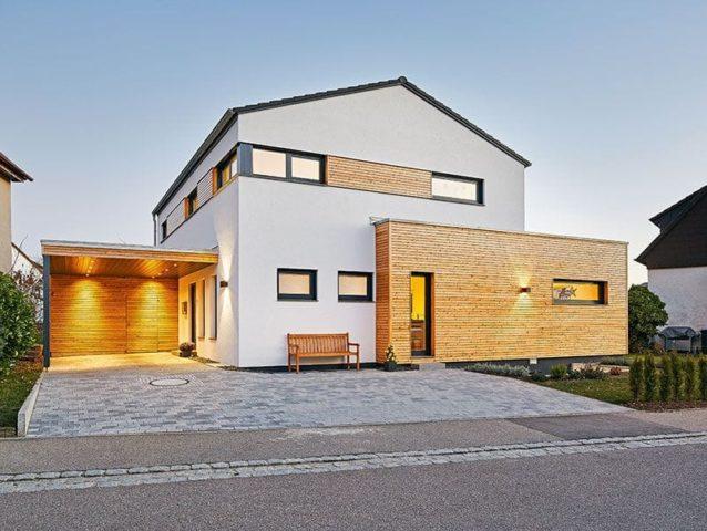 Entwurf Landhaus 2017 von LUXHAUS Wechselfassade
