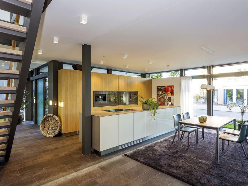 Entwurf Modum Musterhaus Mannheim von HUF HAUS Küche