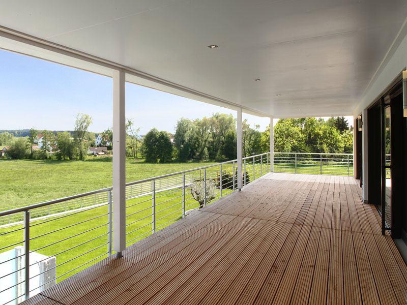 Baufritz_Haus Riederle_Terrasse