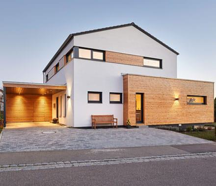 Bauweise Luxhaus