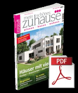 mein schönes zuhause°°° Ausgabe Juli/August 2017 - ebook