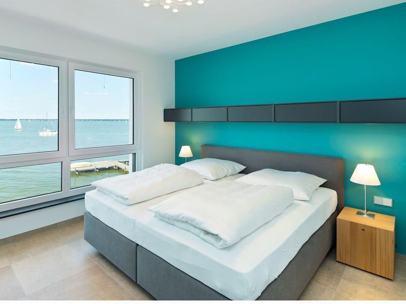 Schlafzimmer Villa am Meer von Heinz von Heiden