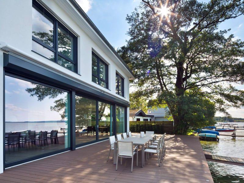 Terrasse Villa am Meer von Heinz von Heiden.