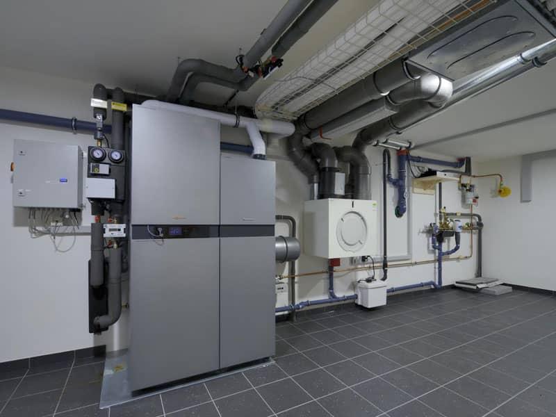 Baufritz Alpenchic Technikraum