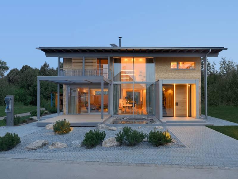 Baufritz Alpenchic Fassade
