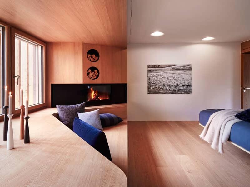 Schlafzimmer Idee im Entwurf Haussicht von Baufritz
