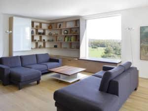 Sitzecke Haus Kieffer von Baufritz.