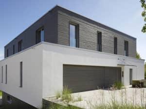 Außenansicht vom Haus Kieffer von Baufritz