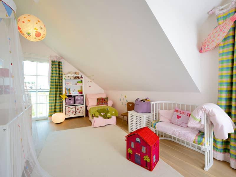 Kinderzimmer im Baufritz Entwurf Motz-Russ