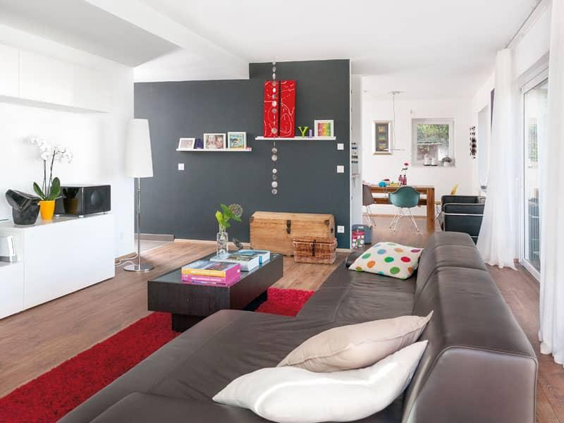 """Wohnzimmer """"Schöner-Wohnen-Haus"""" von SchwörerHaus"""