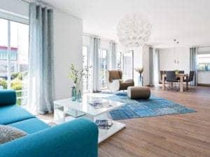 Musterhaus Neunkhausen von Fingerhut Haus Wohnzimmer