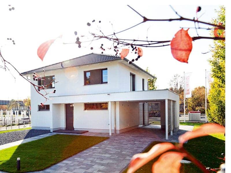 Villa Köpenick von Heinz von Heiden Außenansicht Rückfront