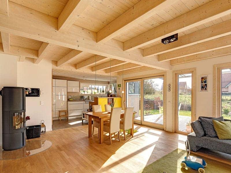 Entwurf Hegger von Sonnleitner Wohnbereich
