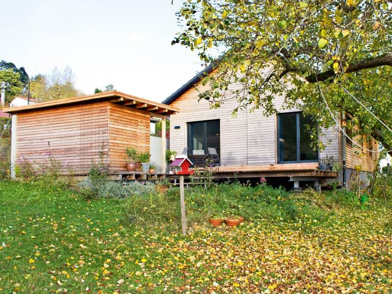 Entwurf Homestory 381 von Lehner Haus Außenansicht