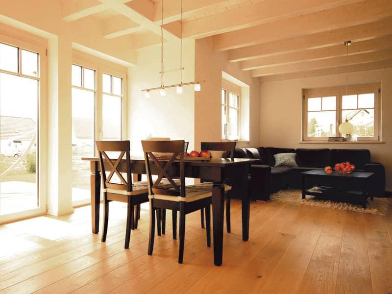 Nordisches Flair von Vöma Bio Bau Wohnbereich