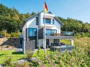 individuelles Kundenhaus von Büdenbender Hausbau Außenansicht