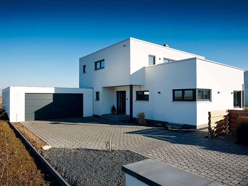 Entwurf Architektur Trend von Fingerhaus Straßenseite