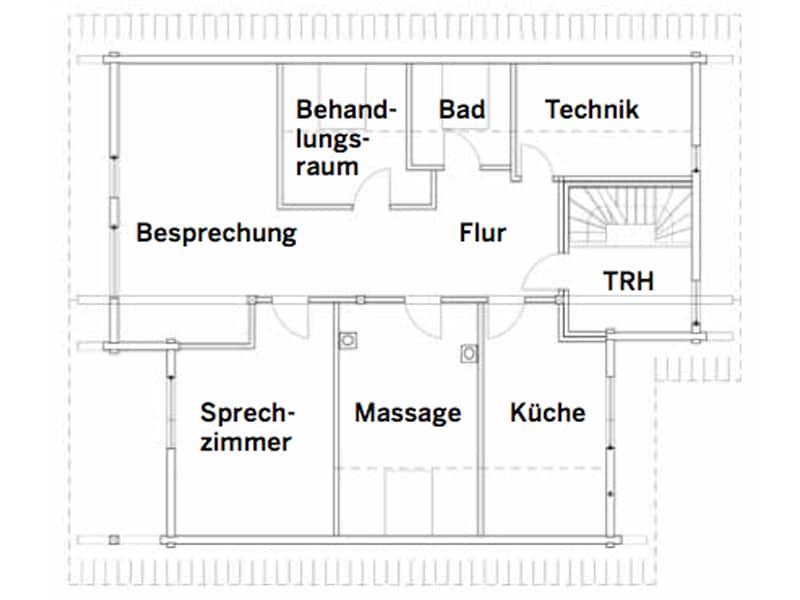 Grundriss Obergeschoss Haus Heroldstatt von Fullwood