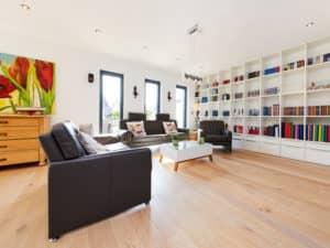 Entwurf Babelsberg von Gussek Haus Wohnbereich