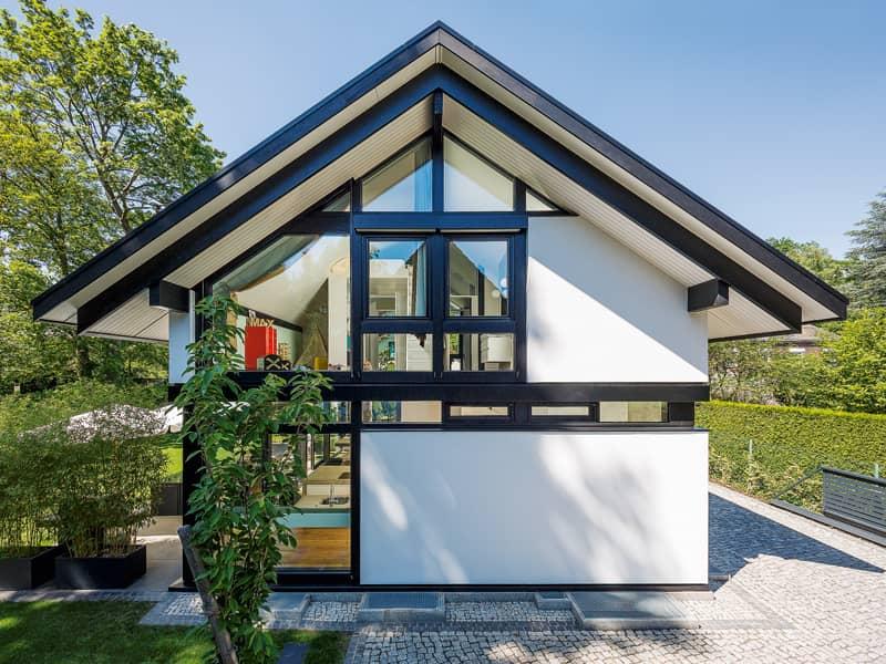 Entwurf modum 6:10 von Huf-Haus Außenansicht