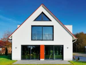 Haus Alto SD 300 von Heinz von Heiden Giebelansicht