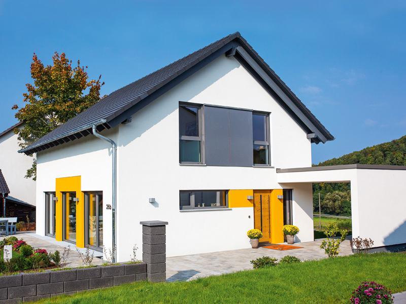 Entwurf Jedermann von Büdenbender Hausbau Außenbereich