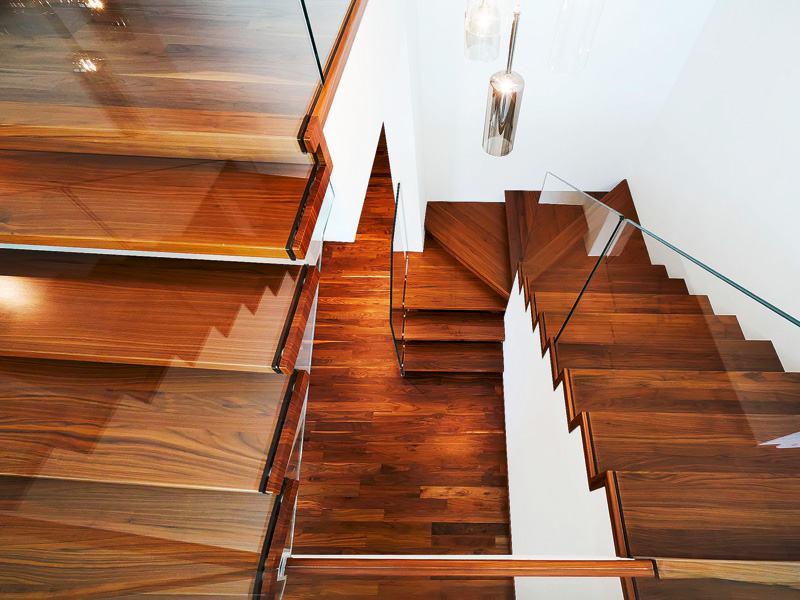 Entwurf Bibbiana von Rubner Haus Treppe