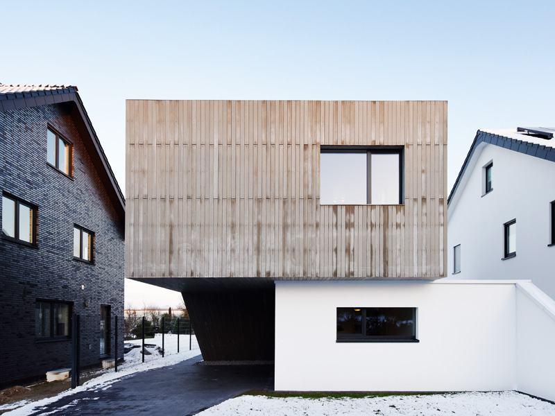 individueller Entwurf Oelde von KS-Original Fassade Lattung
