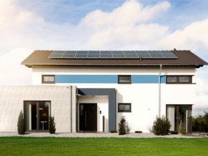 Musterhaus Werder von Okal Außenansicht