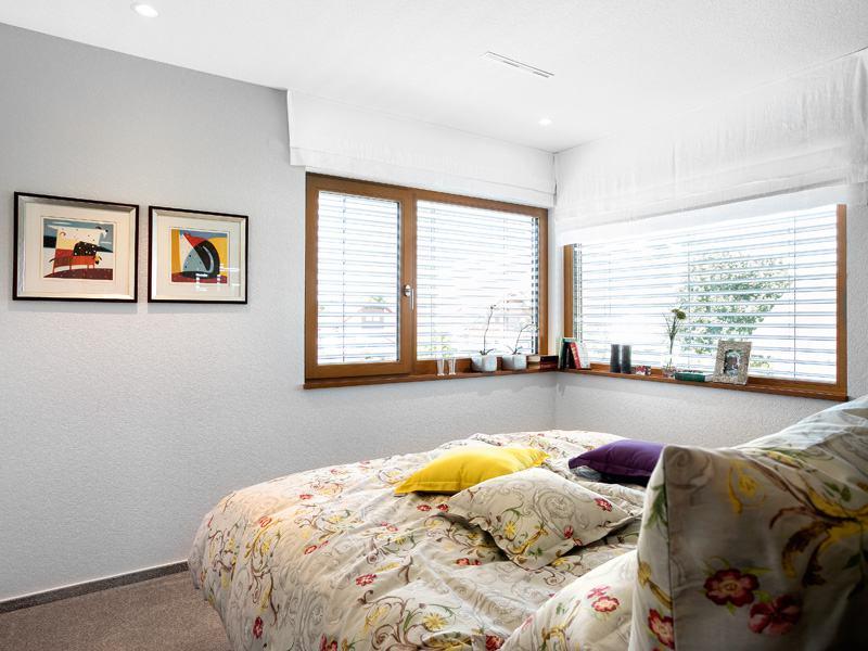 Musterhaus Auggen von Schwörer Haus Elternschlafzimmer