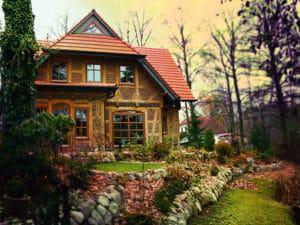 Das traditionell gebaute Fachwerkhaus ist technisch auf dem neuesten Stand.